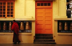 Dharamsala - where the Dalai Lama lives