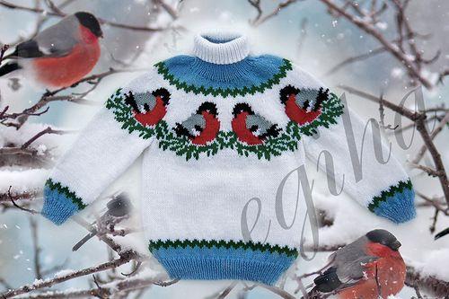 вязание детский свитер