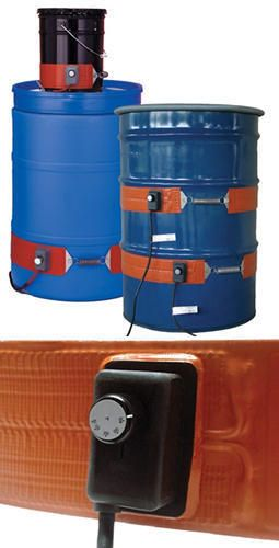 "You are buying one Heavy Duty Silicone Metal Drum and Pail Heater. This item is available for 5 & 150 watts, 15 & 200 watts, 30 & 250 watts, and 55 & 300 watts gallon drums. It also comes in 120 or 240 vac. 50- 425 degrees F. Moisture and chemical resistant, 450 degree max exposure temperature on heating surface, dielectric strength of over 2000 volts, power cord 6 ft long, and spring closure can be expanded 3""."