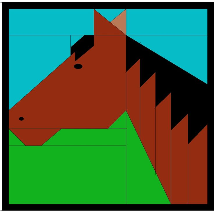 Image result for barn quilt horse