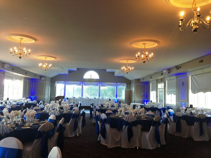 17 Best images about Royal Blue Wedding Reception Idea on