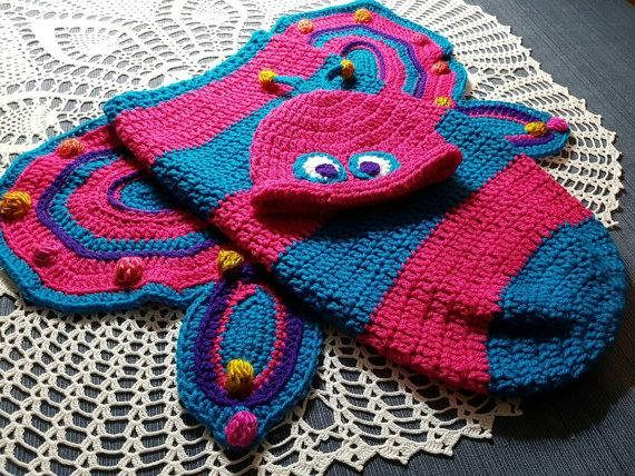 Check out this item in my Etsy shop https://www.etsy.com/ca/listing/558810089/crochet-baby-butterfly-cocoon-pink-teal