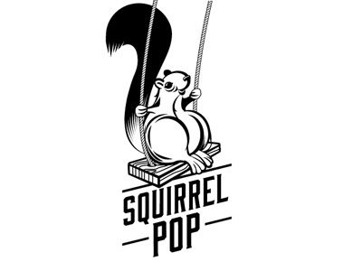 Squirrel POP. From the Logo Design inspiration series -  Squirrels