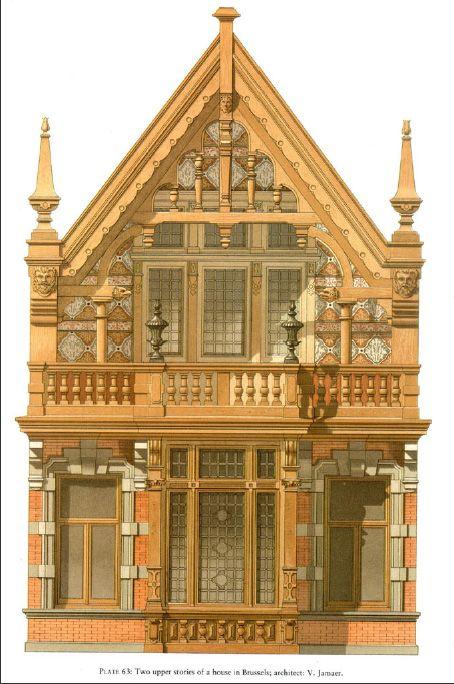 Details of Victorian Architecture. Викторианская архитектура в проектах. (Фото 3)
