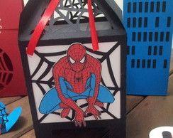 Caixa Teia Homem Aranha