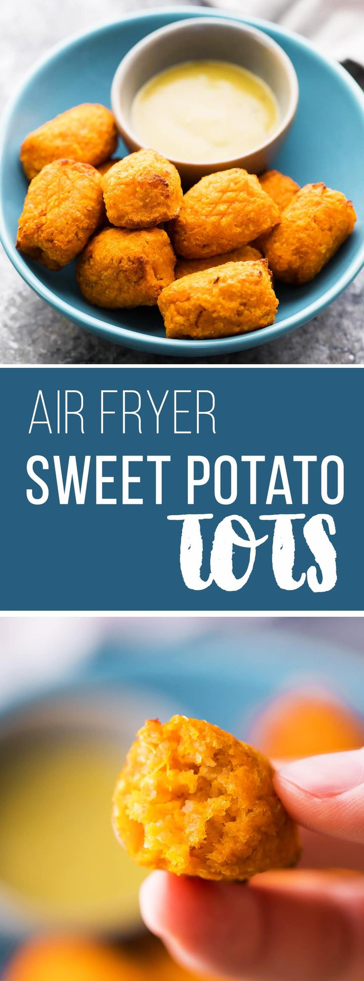 Crispy Air Fryer Sweet Potato Tots Recipe Sweet potato