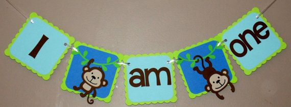 Check out this item in my Etsy shop https://www.etsy.com/ca/listing/494471525/monkey-highchair-banner-monkey-banner