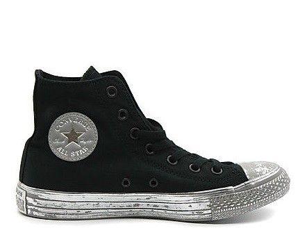 Sneaker Converse All Star 156763c ctas hi black silver black summer 2017