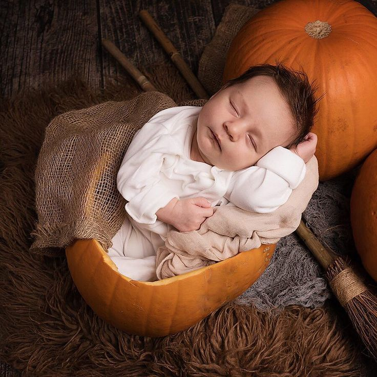 10 Photos of Babies in Pumpkins That Are Too Pure for Words - Pumpkin Baby Pictures