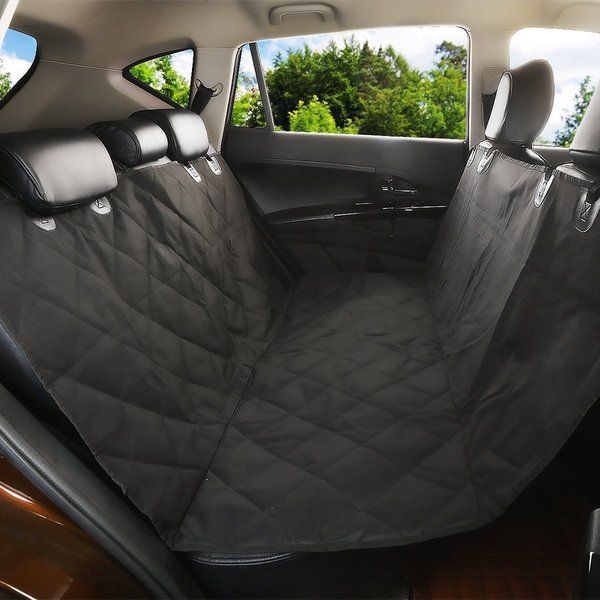 Keep you and your dog safe with the Waterproof Car Dog Seat Cover Protector which protects your dog when you brake or swerve and keeps your pet behind the fore carriage to refrain from diverting your