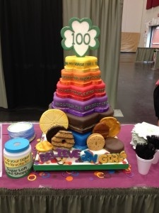 17 Best images about Cake Ideas for Girl Scout Bridging ...