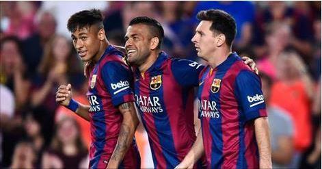 Dani Alves canta reggaeton al estilo de Daddy Yankee - El Barcelona debutó este fin de semana en la Liga BBVA con una victoria ante el Athletic de Bilbao en el estadio de San Mamés.   El lateral derech...