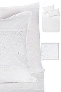 100% Cotton Lace Paneled Duvet Cover Set| Mrphome Online Shopping