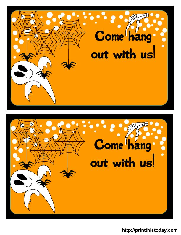 712 best images about HALLOWEEN PRINTABLES – Free Printable Halloween Costume Party Invitations