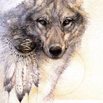 Spirit Wolf ~ Susan Seddon Boulet