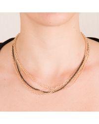 Karışık Zincir Kolye  #gold #black #altin #siyah #kolye #necklace #chic #fashion #style #stil #moda #modavapuru