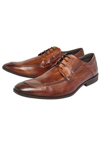 Sapato Ferracini Holanda Marrom - Compre Agora | Dafiti Brasil