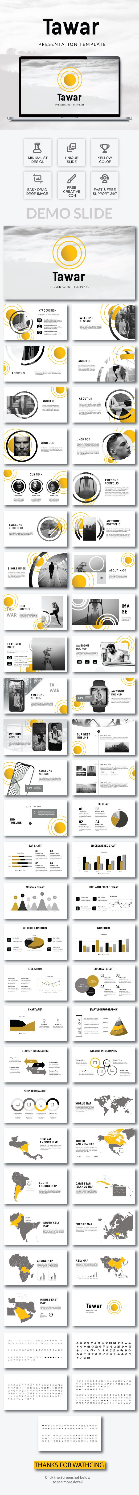 #Tawar - Powerpoint Template - #PowerPoint Templates Presentation Templates