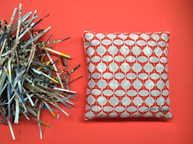 Ikea Belgium Recycles its Catalog as a Designer Cushion - Print (image) - Creativity Online