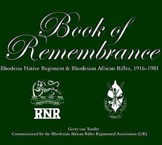 Book of Remembrance – RNR/RAR
