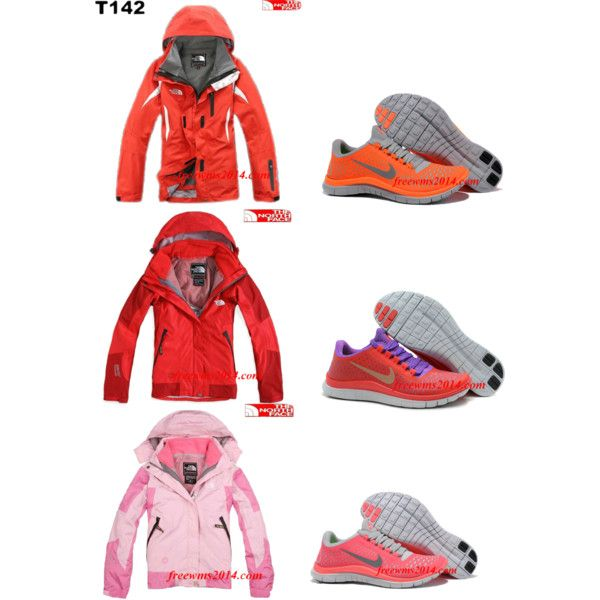 """Cheap North Face Jacket And Cheap Nike Free 3.0 V4"" by trendace-148 on Polyvore        #cheap #nike #free"