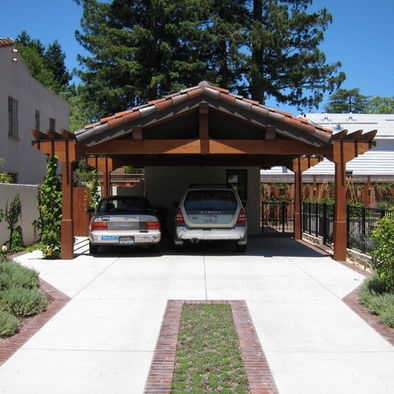 Love garage and shed carport design pictures remodel for Carport ideas gallery