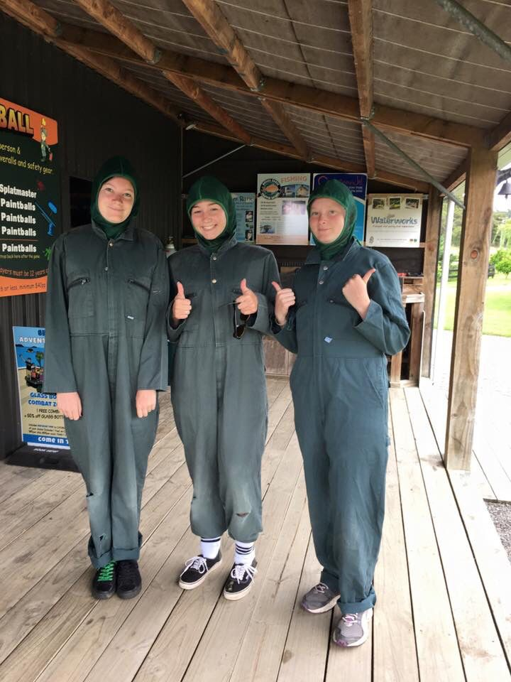 Fun zone paintball
