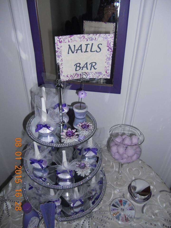 Nails bar, despedida de soltera de Erika
