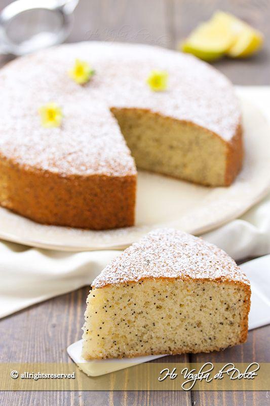 Torta+al+limone+e+semi+di+papavero
