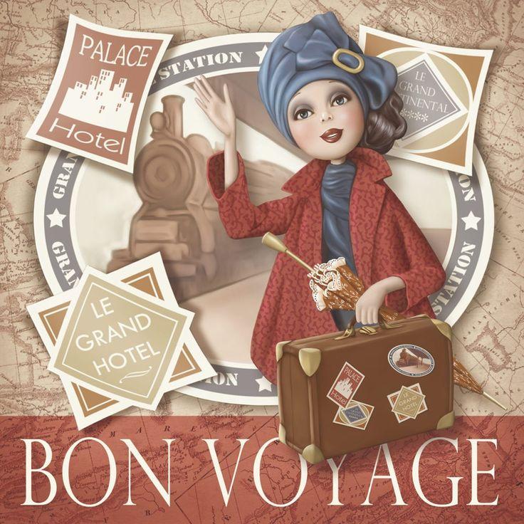 Bon voyage Nina DE SAN