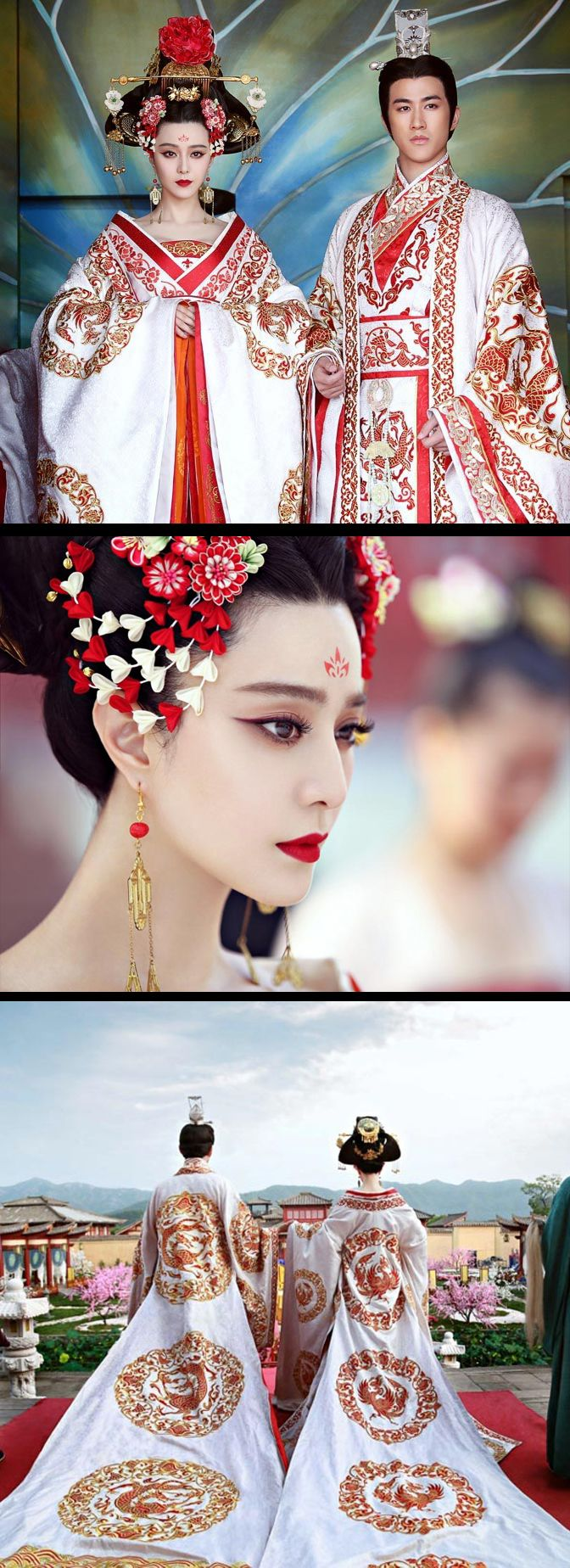 'The Empress of China' ~ Tang Dynasty? If I know my history correct … Really want to watch this! Someone sub it please, I'll even accept a dubbed version!! Lol
