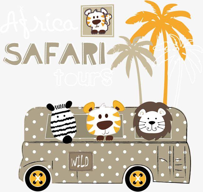 Animal Bus Vector Lion King Lion Vector Animals Wild Baby Cards Handmade