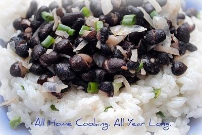 Coconut Black Bean & Rice!