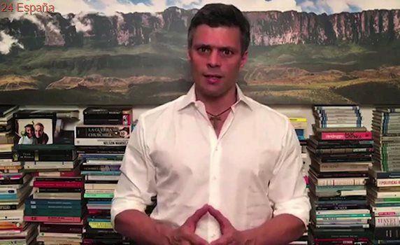 Leopoldo López pide en un vídeo seguir la lucha «por una mejor Venezuela» y anuncia que será padre