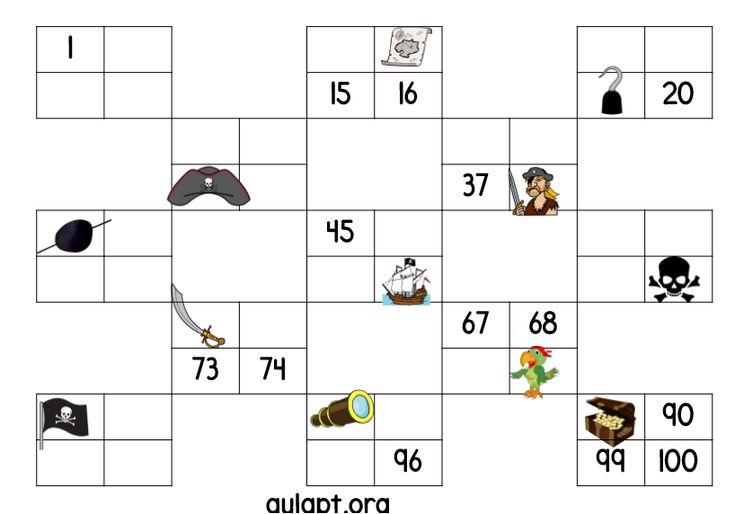 En busca del número perdido en la tabla. 5 actividades diferentes. - Aula PT