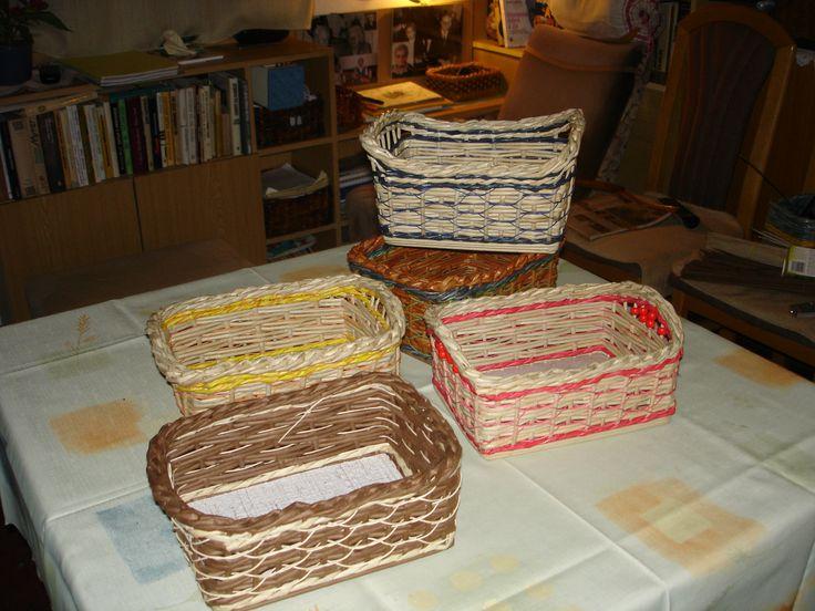 pletení z papíru kombinace s pedigem