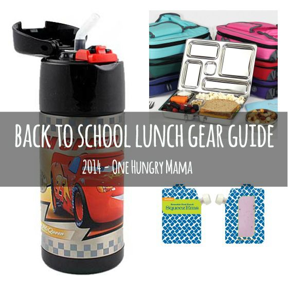 2014 Back to School Guide: Best lunch boxes, lunch bags, and lunch accessories at One Hungry Mama