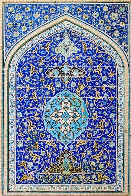 persian tiles...i want my house covered in this!