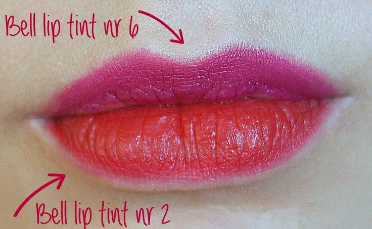 Bell tint make up lips