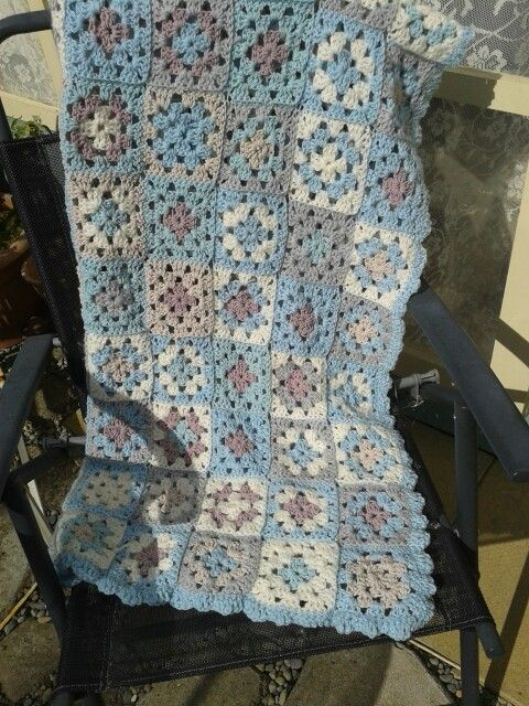 Crochet blanket by chloes patch