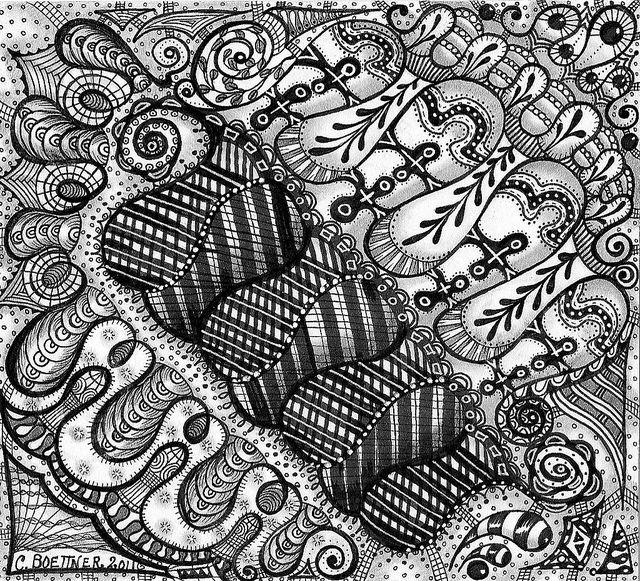 """"""" Sleepytime Tangles """" by carolynboettner, via Flickr"""