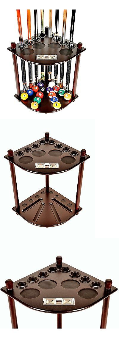 Ball and Cue Racks 75185: Pool Table Accessories 8 Pool Billiard Stick Set Ball Floor Stand With Scorer -> BUY IT NOW ONLY: $79.97 on eBay!