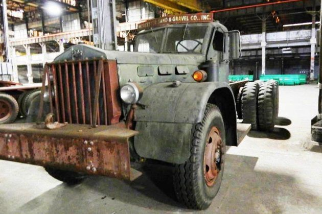 Navy Wrecker - 1942 Sterling Chain Drive Truck #Trucks #Sterling, #Trucks - http://barnfinds.com/navy-wrecker-1942-sterling-chain-drive-truck/