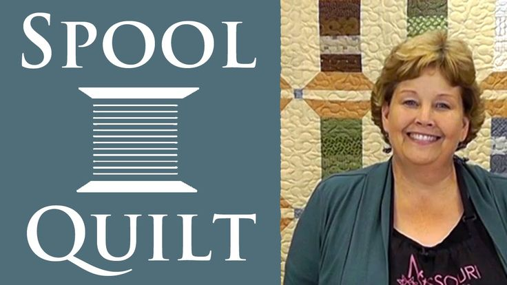 The Spool Quilt: Easy Charm Pack Quilting Tutorial with Jenny Doan of Missouri Star Quilt Company. I need this quilt in my life!
