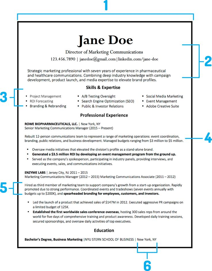 What Your Resume Should Look Like In 2018 | Money