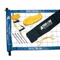 Park & Sun Sports Spectrum Classic  Outdoor volleyball net system with pre-measured boundary lines and varying adjustable heights. Easy to set up on the beach or on grass at Volleyball.com
