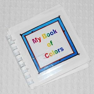 toddler activities making a color book is a wonderful way to reinforce colors and practice pre reading skills - Color Book For Toddler