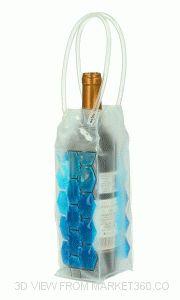 Bottle cooler - blue