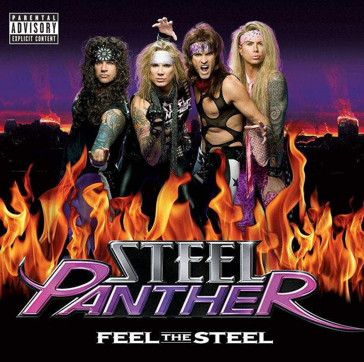 """Steel Panther's """"Eatin' Ain't Cheatin'"""" - Feel the Steel (2009). Performed by Russ Parrish, aka Satchel."""