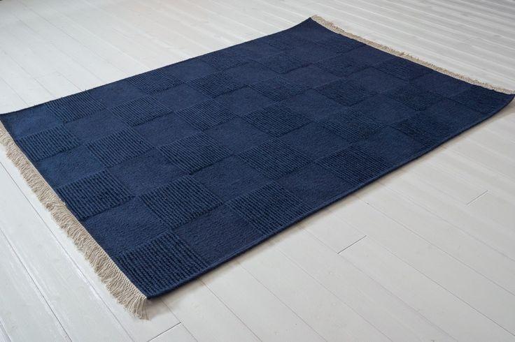 Moa blå 140x200 - Alla lösa mattor - Lösa mattor   Ruugs.se